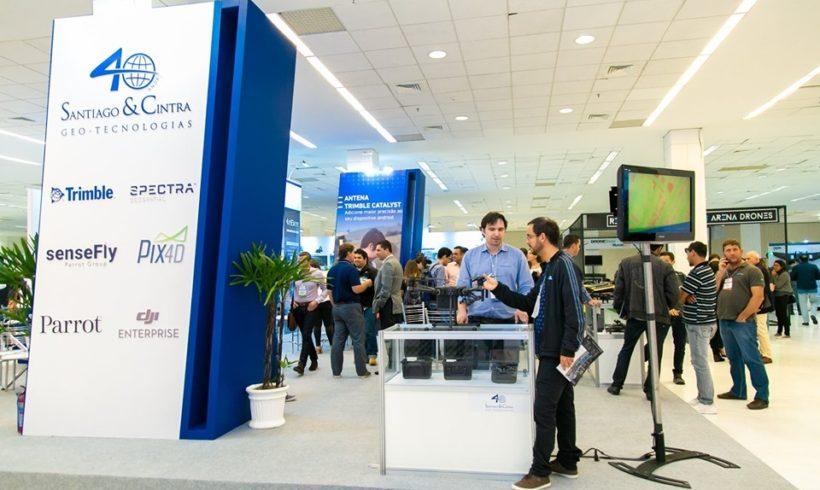 Santiago & Cintra confirmada na feira DroneShow e MundoGEO Connect 2021