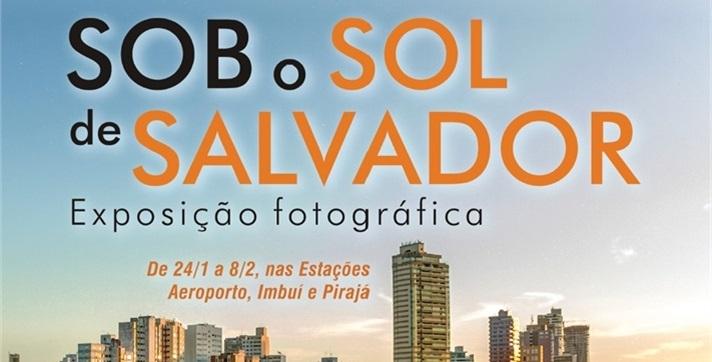 Imagens produzidas por drones são exibidas no metrô de Salvador