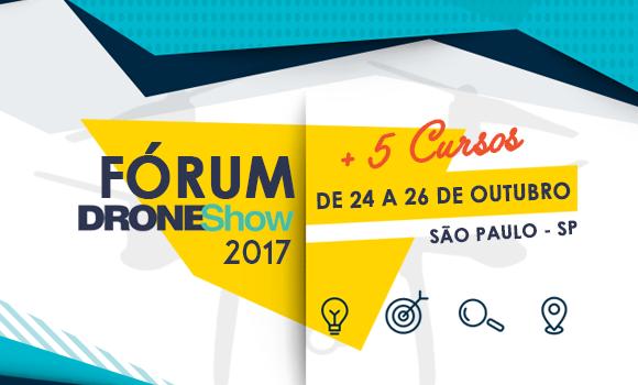 Fórum DroneShow: Participe do Curso de Drones para Agricultura