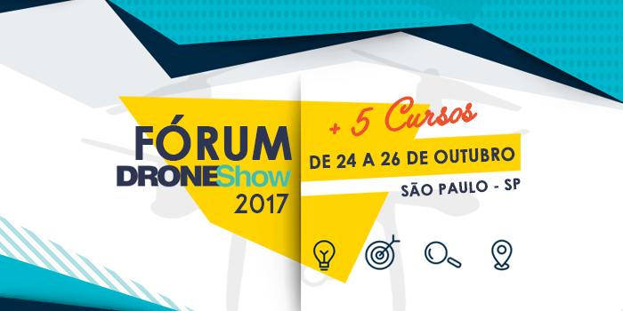 forum4 seo Últimos dias para inscrição com desconto no Fórum DroneShow 2017