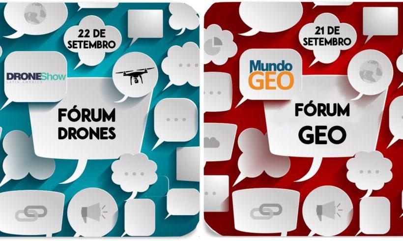 Empresários unidos para traçar o futuro do mercado de Geo e Drones
