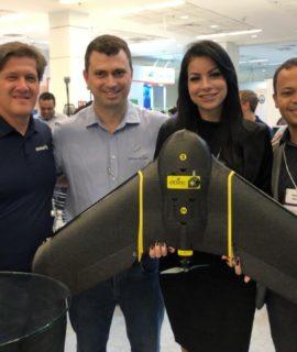 Santiago & Cintra, senseFly e Pix4D surpreendem com sorteio inédito na Droneshow 2019