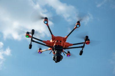 geo e drones na industria 4.0