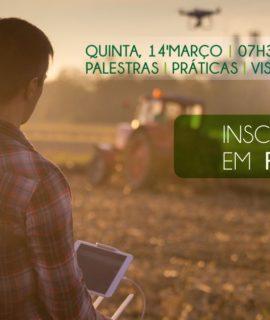 Workshop sobre Tecnologias Aplicadas na Agricultura acontece em março