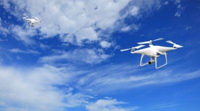 gerenciamento de trafego de drones