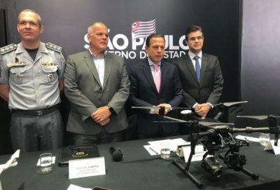 governo de sao paulo anuncia programa dronepol