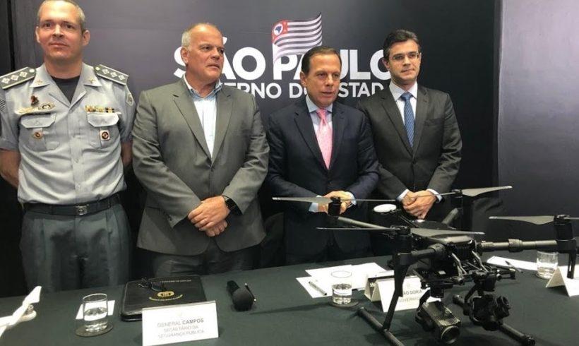Governo de São Paulo anuncia programa Dronepol