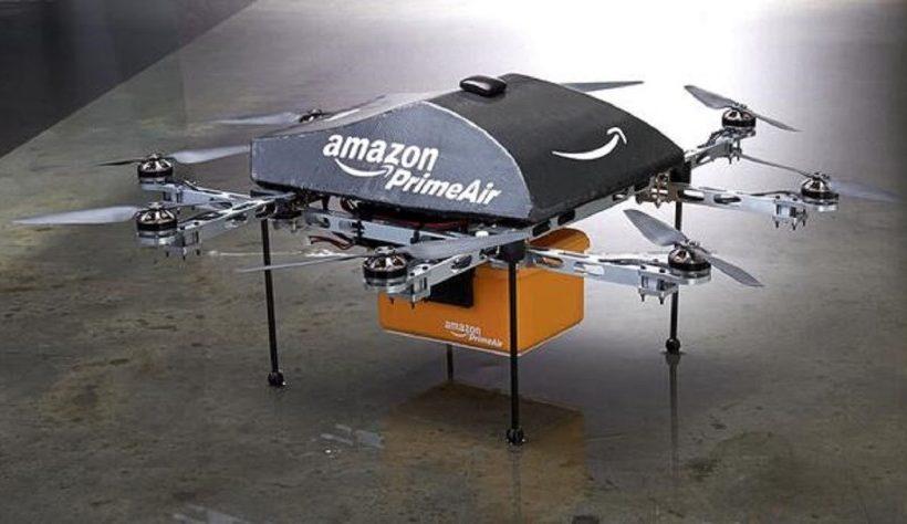 Amazon obtém patente para usar Drones em suas entregas
