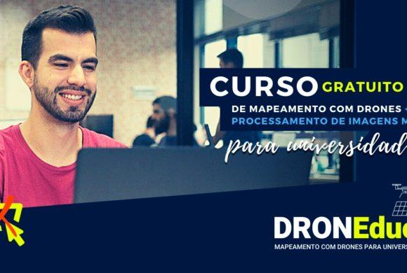 DRONEduca: imersão para Universidades e Instituições de Ensino no mercado de mapeamento com drones