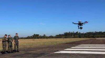 inspecao em voo com drones