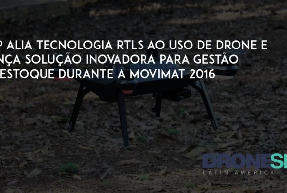 GTP lança solução de drones para gestão de estoques