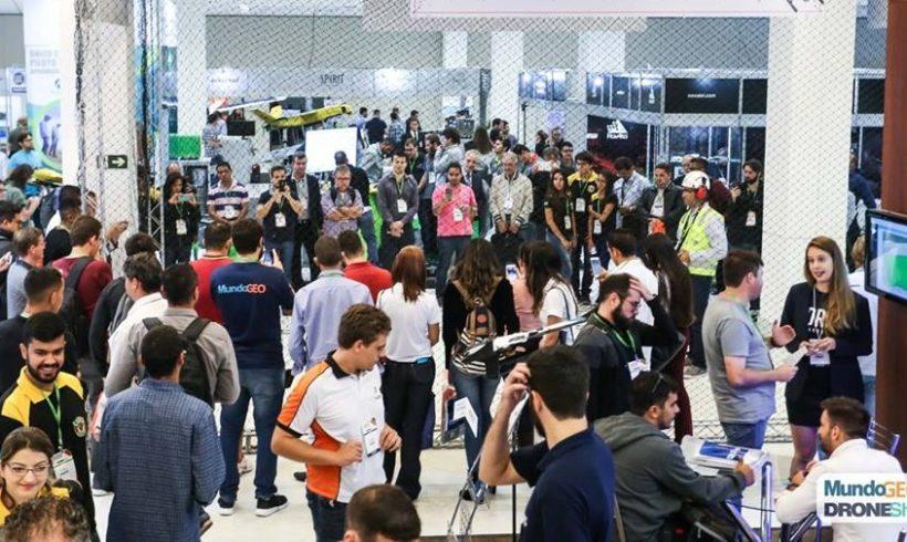 Feira DroneShow 100% ocupada: conheça os expositores e atividades livres