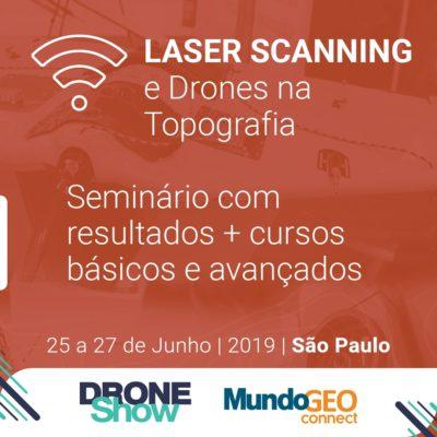 laser scanning e drones na topografia