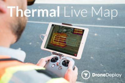 mapa termal em tempo real