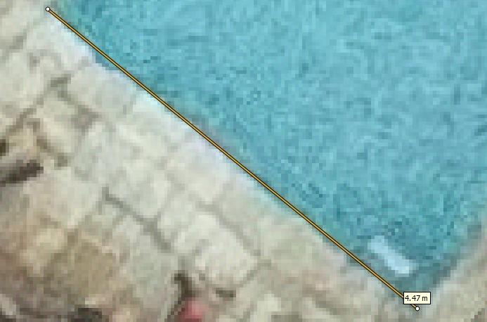 Medição de 4,47 cm