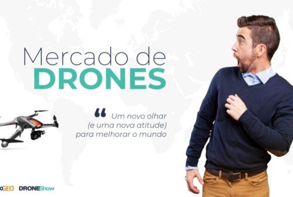 Webinar com inscrição aberta: Novos e exclusivos números do Mercado de Drones