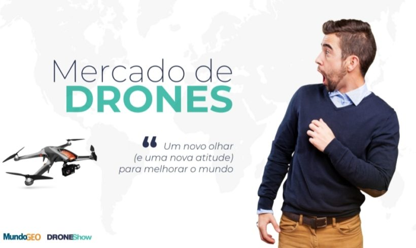 Replay disponível: Novos e exclusivos números do Mercado de Drones
