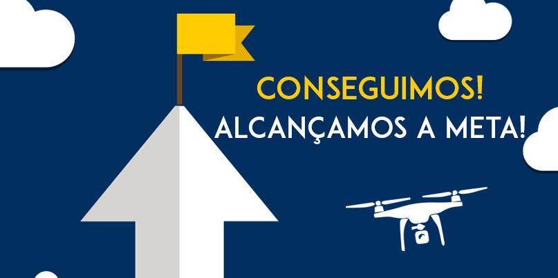 Abaixo-assinado pela regulamentação dos Drones alcança a meta