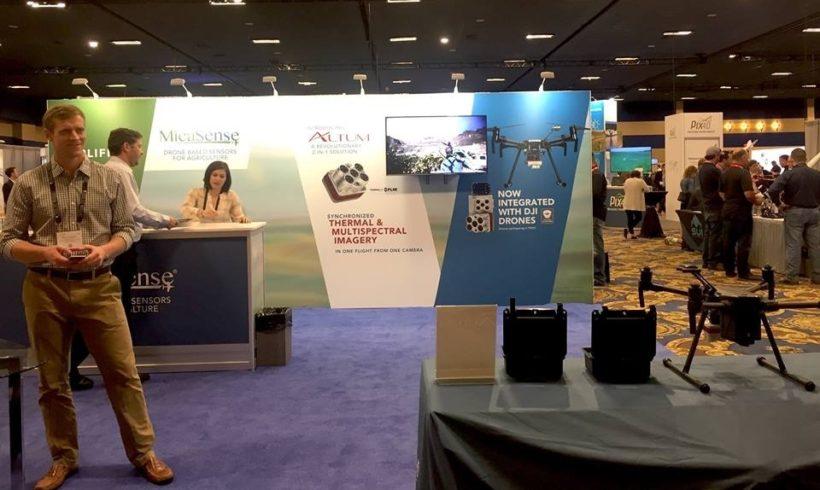 MicaSense confirma participação na feira DroneShow 2019