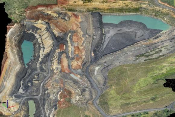 Drone Isis permite estudos específicos na área de mineração