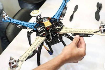 montagem e manutencao de drones