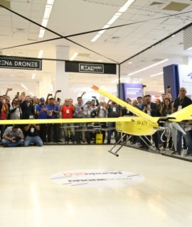 XMobots apresenta drone VTOL e soluções para setor sucroenergético