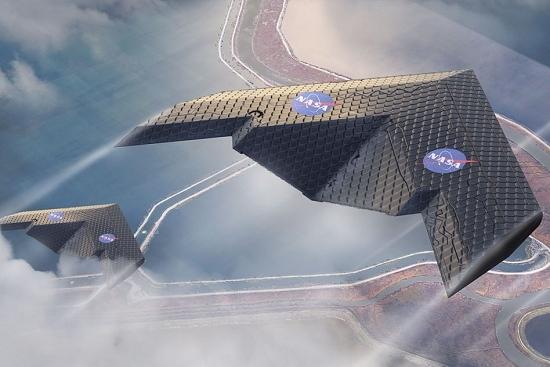 NASA testa aeronaves que usam nova estrutura de asa