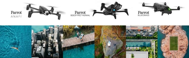 novos drones da parrot