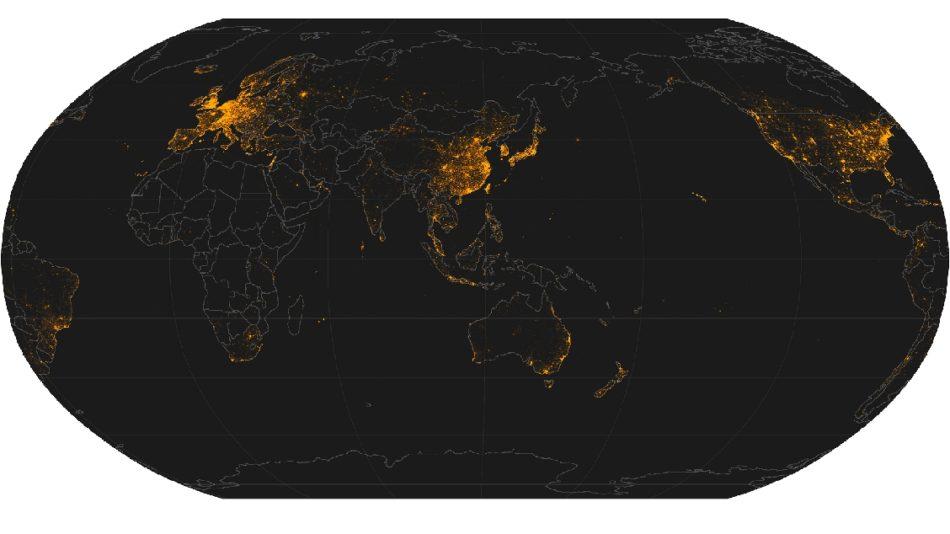 numeros de voos com drones no mundo