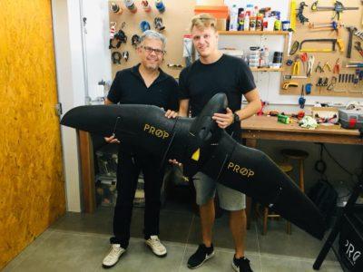 parceria flyware e propdrones