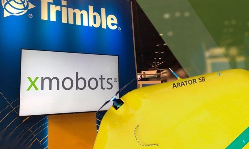 XMobots e Trimble fecham parceria inédita no mercado de drones
