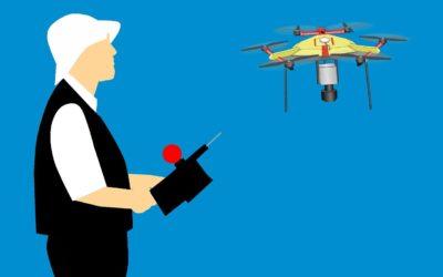 piloto de drone