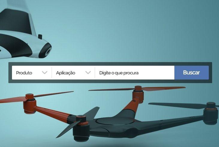Aplicativo DroneShow divulga layout e já tem mais de 100 empresas confirmadas