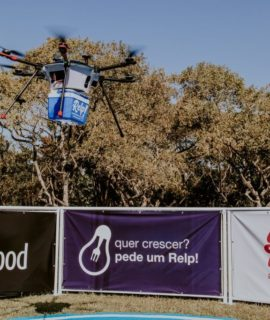 Entrega de comida por drones: primeiros testes são realizados no Brasil