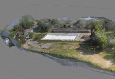 processamento de imagem de drone