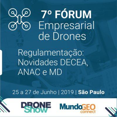 regulamentacao e empreendedorismo com drones 400x400 Cursos e Fórum tratam da Regulamentação e Empreendedorismo com Drones
