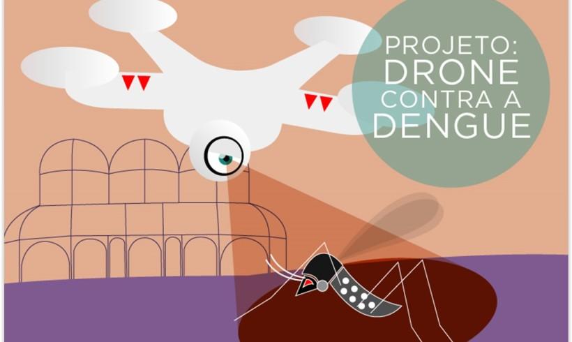 Saiba como os Drones combaterão o Zika Virus, Dengue e Chikungunya
