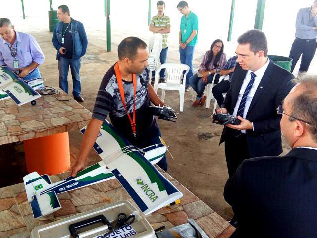 Drones otimizam trabalho de regularização fundiária no Incra