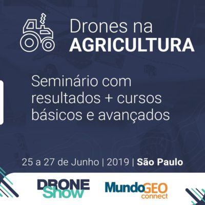 seminario e cursos de drones na agricultura e florestas