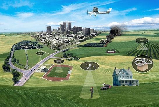 NASA realiza testes de tráfego de drones no Texas