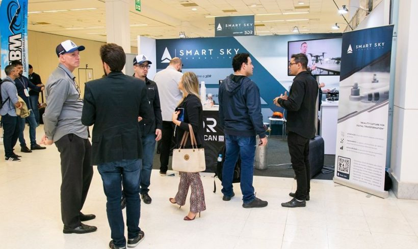 Smart Sky Tech Hub confirmada na feira DroneShow e MundoGEO Connect 2021
