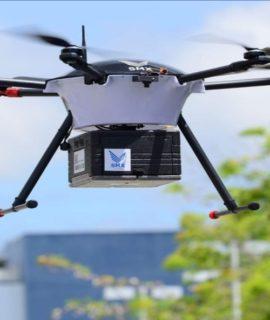 B2W inicia testes para entregas com drones para Americanas e Submarino