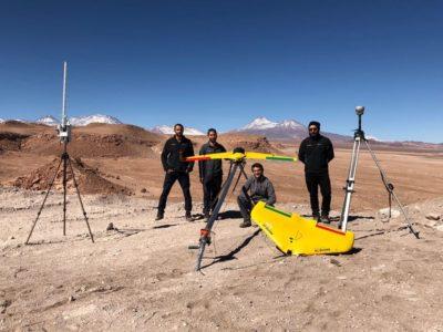 testes com drones da xmobots no chile