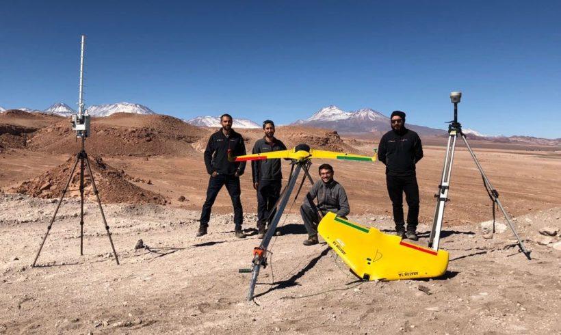 Drones da XMobots participam de bateria de testes no Chile