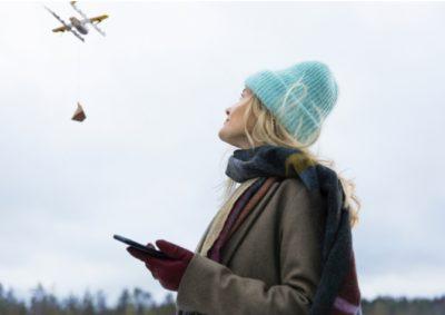 testes de entregas com drones