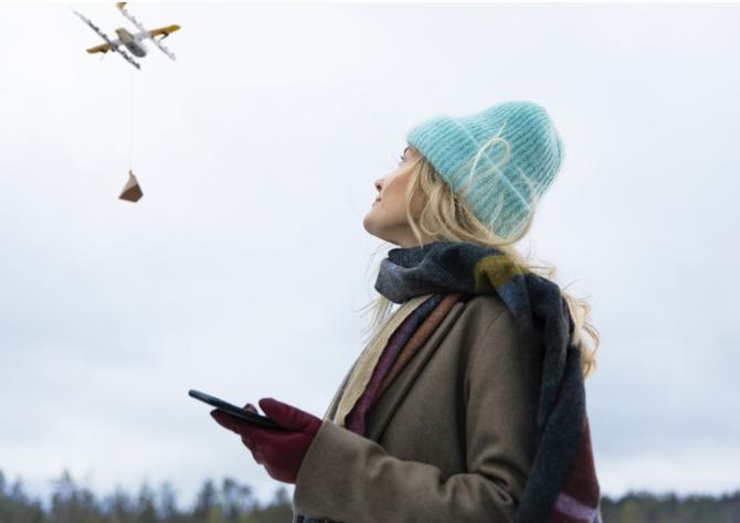 Alphabet inicia primeiros testes de entregas com drones na Finlândia