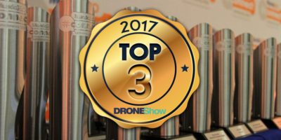 Confira quem ficou no TOP 3 do Prêmio DroneShow 2017