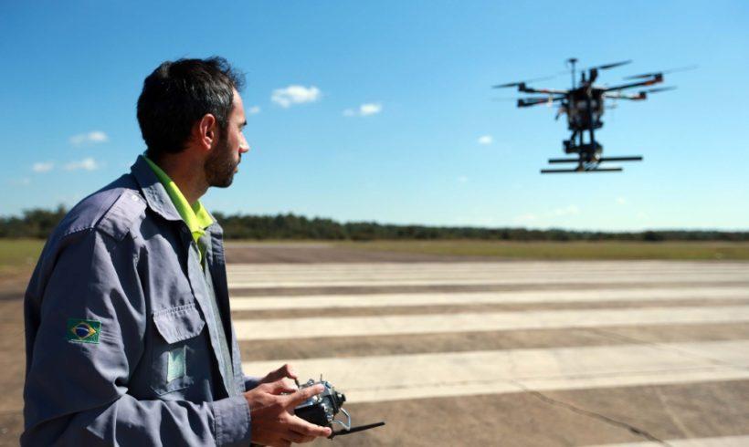 DECEA apoia operação de transporte de bolsas de sangue com drones