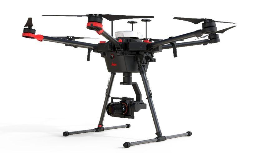 Leica Geosystems integra nova tecnologia de mapeamento a plataforma da DJI