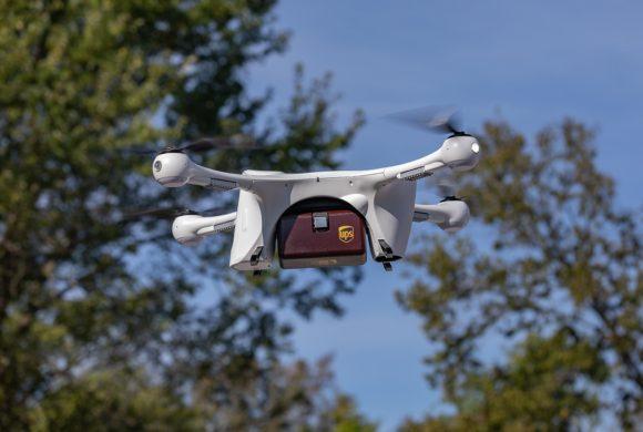 Companhia aérea UPS é certificada para entregas com drones nos EUA